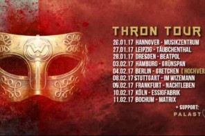 JOACHIM WITT auf Thron Tour 2017