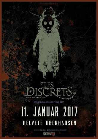 LES DISCRETS auf Europatour 2017