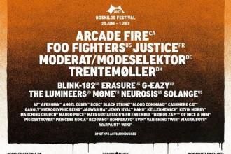 Hip Hop, Rock, Pop und Soul – das Roskilde-Festival gibt neue Bands bekannt