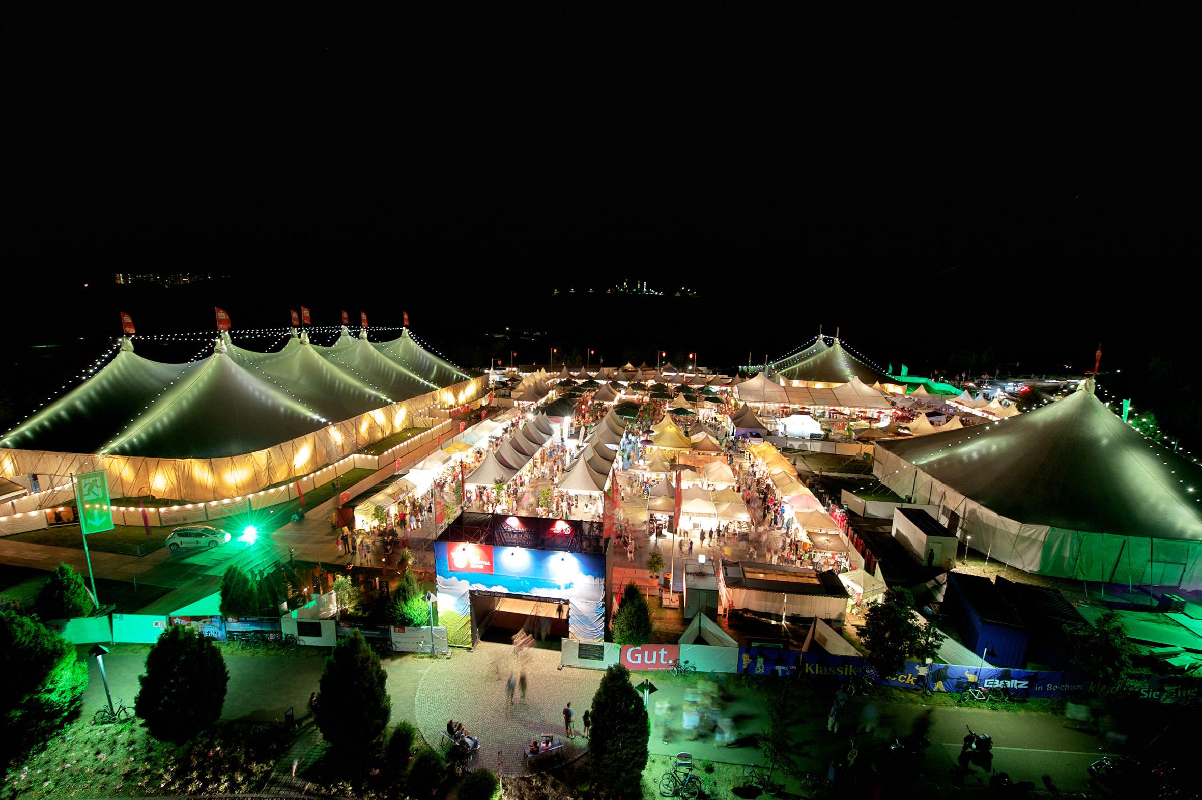 Hoher Besuch beim Zeltfestival Ruhr - PLACEBO gastieren am Kemnader See