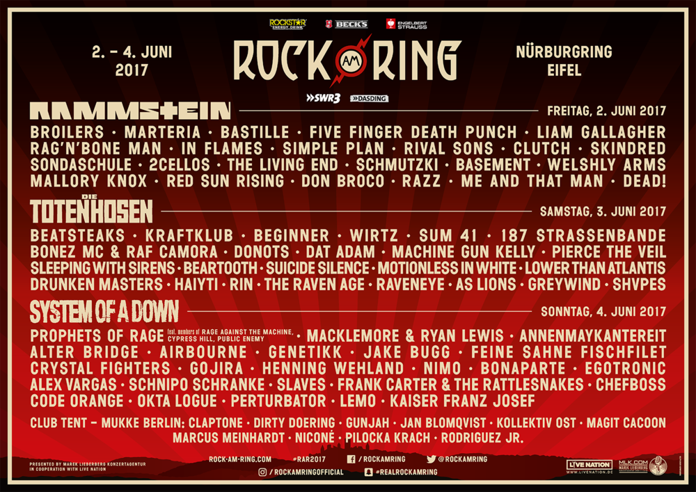 Rock am Ring 2017 - Back to the roots!