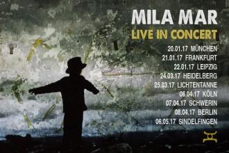 MILA MAR: 4 Livetermine im April und Mai 2017