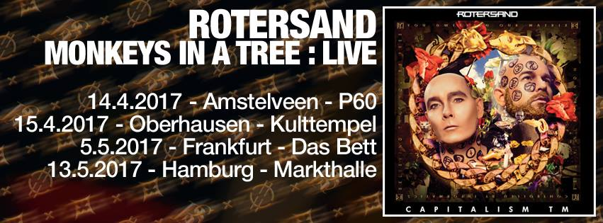 ROTERSAND – Monkeys In A Tree: Live