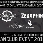 Exklusives Solar Fake/Zeraphine Fanclub Event