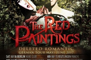 [beendet] Verlosung – Monkeypress.de präsentiert: THE RED PAINTINGS Tour 2017