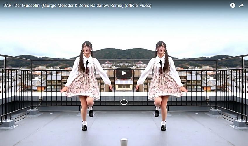 Altmeister Giorgio Moroder remixt DAF-Klassiker