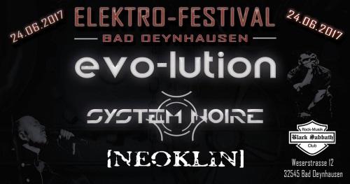 EVO-LUTION live beim Elektro-Festival 2017