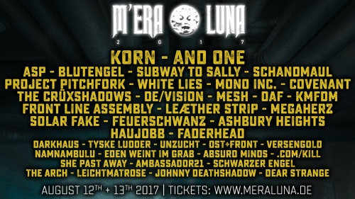 Das M'era Luna Festival 2017