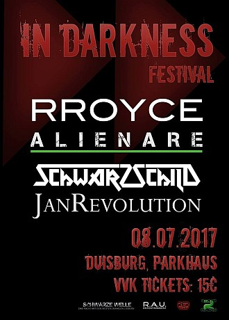 Preview: IN DARKNESS FESTIVAL 2017 – 8. Juli