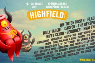 Das HIGHFIELD FESTIVAL 2017 lockt mit DIE TOTEN HOSEN, PLACEBO, BILLY TALENT, CASPER uvm.