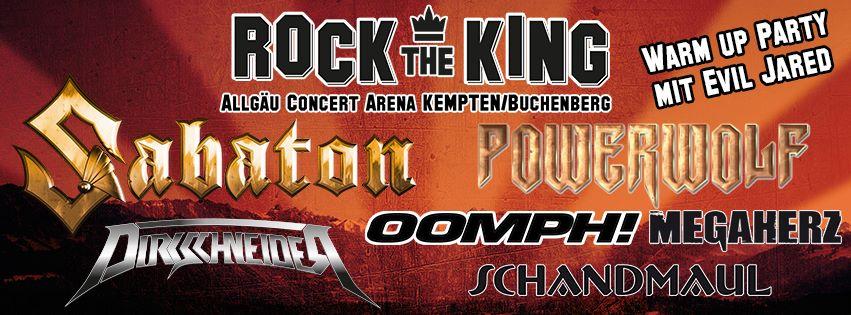 ROCK THE KING - Ende Juli im Allgäu