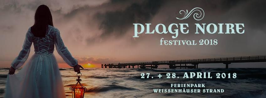Gothicfestival PLAGE NOIRE meldet sich 2018 zurück an der Ostsee