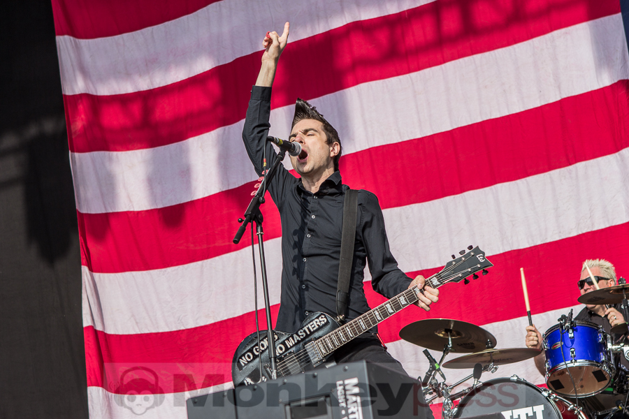 Anti-Flag, © Markus Hillgärtner