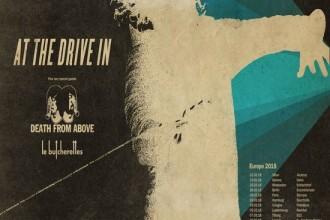 AT THE DRIVE-IN und DEATH FROM ABOVE gemeinsam auf Tour 2018