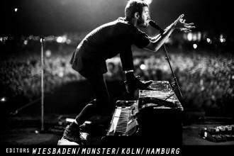 EDITORS kommen im Frühling 2018 mit neuem Album auf Deutschland-Tour