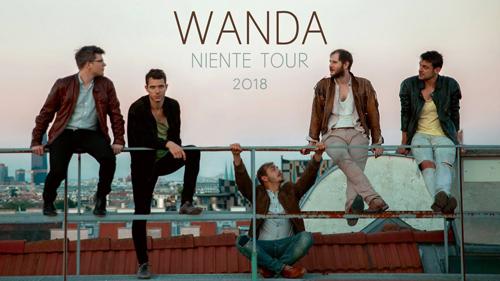 """WANDA bestreiten umfangreiche """"Niente""""-Tour"""