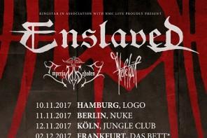 ENSLAVED kommen für vier Konzerte nach Deutschland