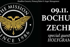 Ein Deutschland-Konzert von THE MISSION steht an