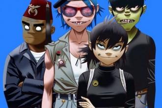 Comic-Band GORILLAZ kommen im November 2017 für 4 Gigs nach Deutschland