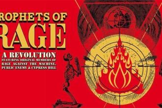 Die meinungsstarke Polit-Supergroup PROPHETS OF RAGE spielt eine exklusive deutsche Show in Düsseldorf!