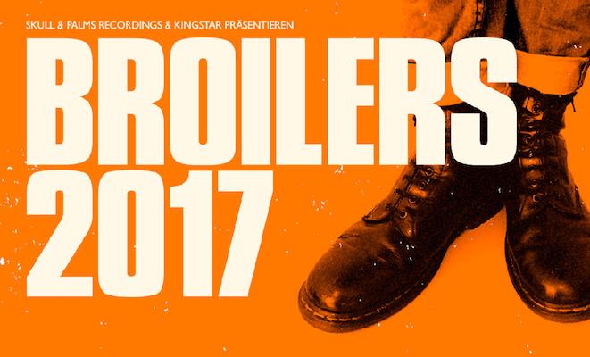 Die BROILERS kommen zum Jahresabschluss 2017 noch einmal auf große Tour
