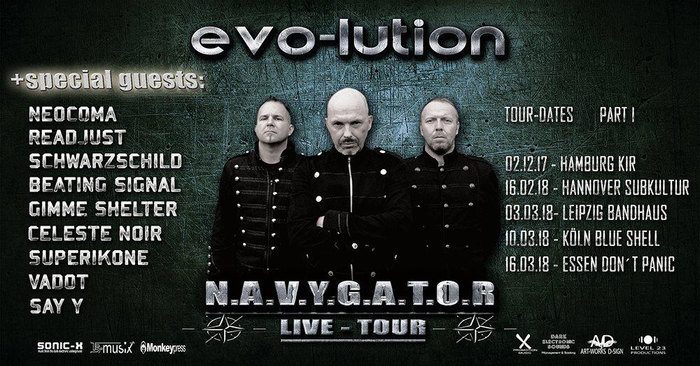EVO-LUTION mit neuen Tourdaten und Album in Sicht