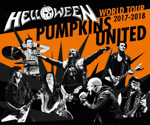 HELLOWEEN im Original Line-up live auf Tour