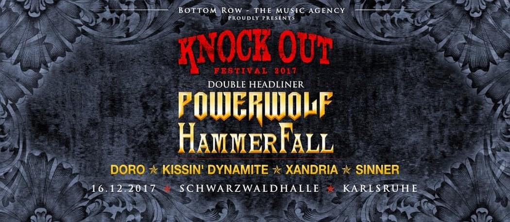 KNOCK OUT FESTIVAL 2017 mit Double-Headliner – Karlsruhe, Schwarzwaldhalle (16.12.2017)