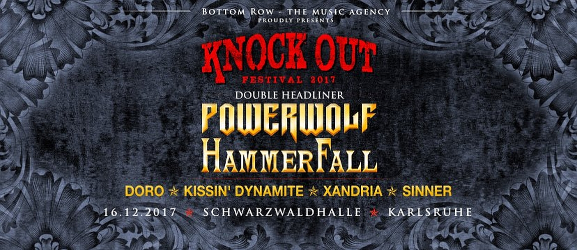 KNOCK OUT FESTIVAL 2017 mit Double-Headliner – Karlsruhe, Schwarzwaldhalle (16.12.2017)
