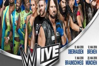 Die WWE kommt zurück nach Deutschland