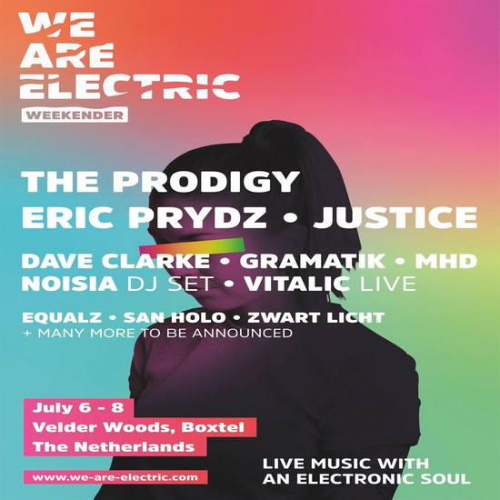 WE ARE ELECTRIC 2018 mit THE PRODIGY