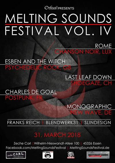 Monkeypress.de präsentiert: MELTING SOUNDS FESTIVAL 2018