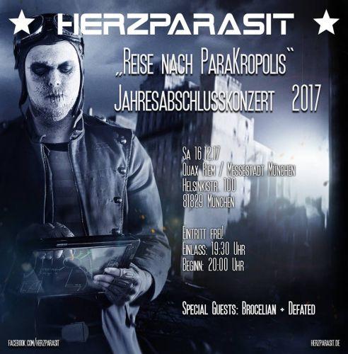 HERZPARASIT: Jahresabschluss mit freiem Eintritt