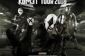 """MEGAHERZ feiern ihr kommendes Album """"Komet"""" mit einer Tour im Frühling 2018"""