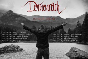 DORNENREICH – exquisite Tour in der ersten Jahreshälfte und ein neues Album am Horizont