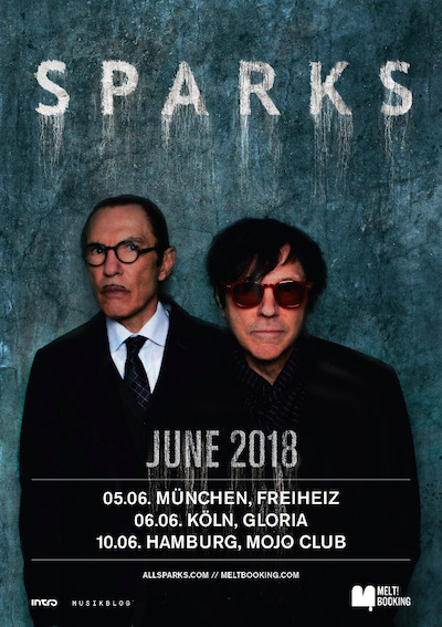 SPARKS kündigen Liveshows in Deutschland 2018 an