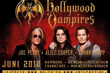 THE HOLLYWOOD VAMPIRES, drei lebende Legenden auf Tour!