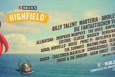 HIGHFIELD FESTIVAL 2018 - Auf ein Neues mit Fanta 4, Billy Talent, The Hives und Bad Religion