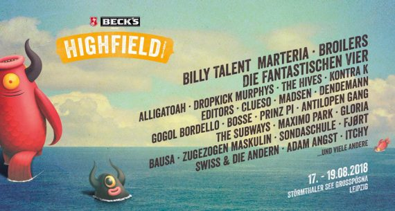 HIGHFIELD FESTIVAL 2018 - Auf ein Neues mit Fanta 4, Billy Talent, The Hives und Bad Religion