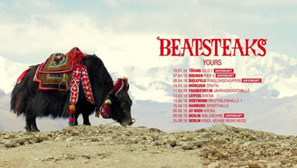 """BEATSTEAKS gehen auf """"Yours""""-Tour 2018"""