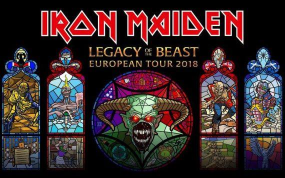 IRON MAIDEN auf ausgedehnter Europatour