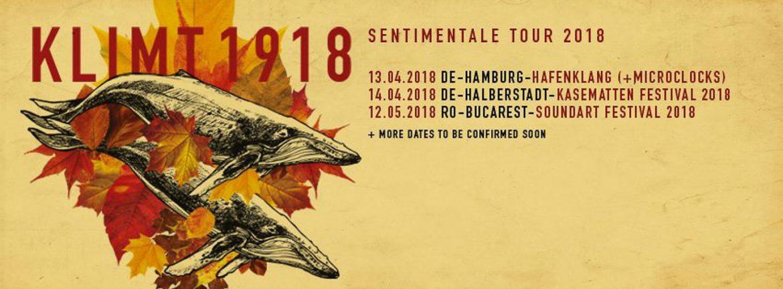 KLIMT1918 setzen ihre Sentimentale-Tour fort