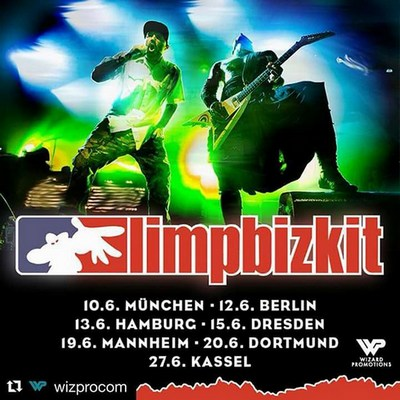 90er-Nostalgie, LIMP BIZKIT auf Tour 2018!