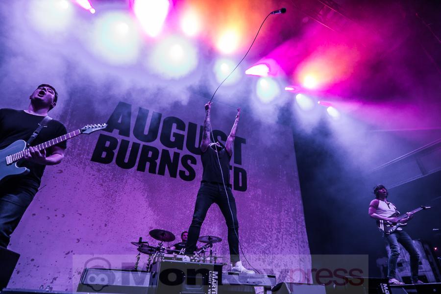 Fotos: AUGUST BURNS RED