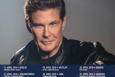 "DAVID ""The Hoff"" HASSELHOFF auf Tour 2018"
