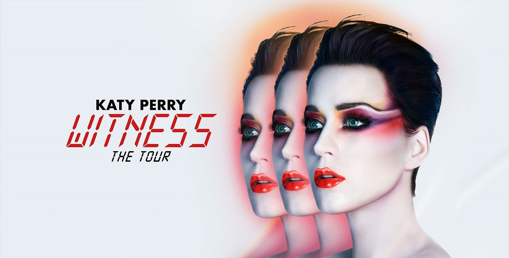 "KATY PERRY auf ""Witness"" Tour"