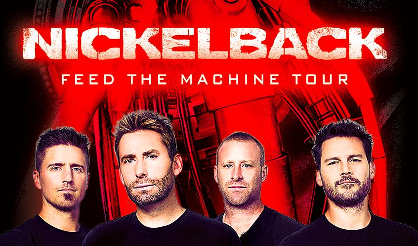 Nickelback Auf Feed The Machine Tour Ankündigungen Monkeypressde