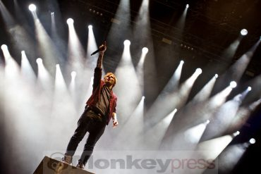 Superstar ED SHEERAN auf Open Air Tour