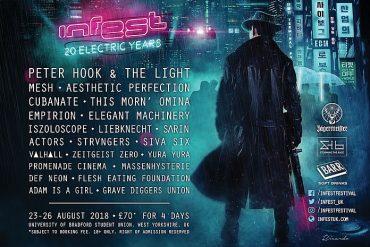 INFEST Festival in Bradford,  23. - 26. August 2018