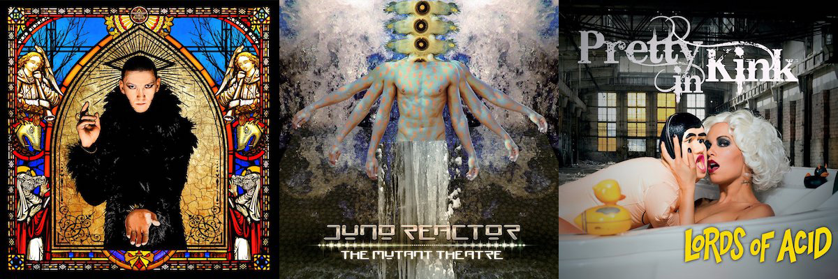 Drei neue Releases von Metropolis Records im Juni 2018: PIG, JUNO REACTOR & LORDS OF ACID